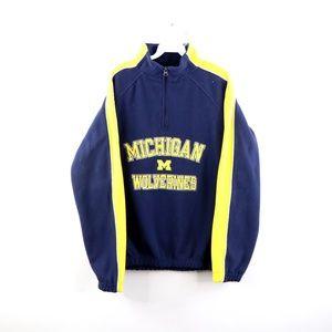 Vintage 90s University of Michigan Fleece Sweater